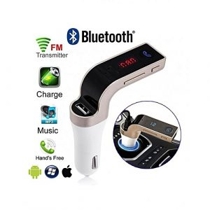 CARG7 Bluetooth Car Charger FM-Transmitter